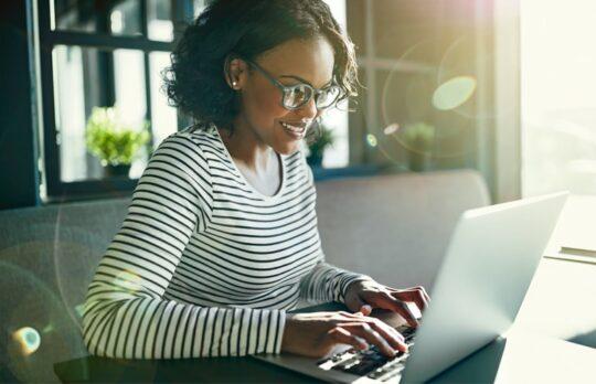 women on laptop Freelance Attorney