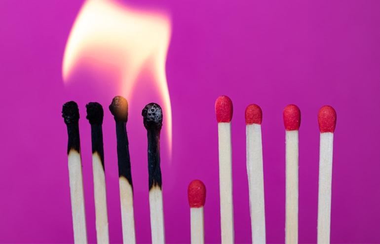 burning match sticks Avoid a Legal Malpractice