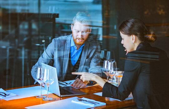 sponsoring women business lunch