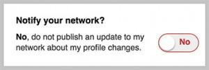 LinkedIn-NotifyYourNetwork