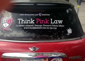 ThinkPinkLawCar