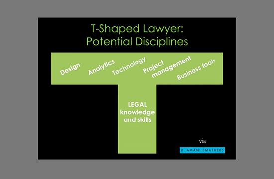 Fig 2 - T-Shaped Disciplines