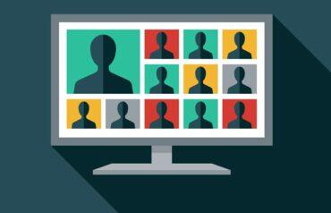 Computer screen lawyer presentations