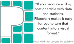 Piktochart - SM for Lawyers