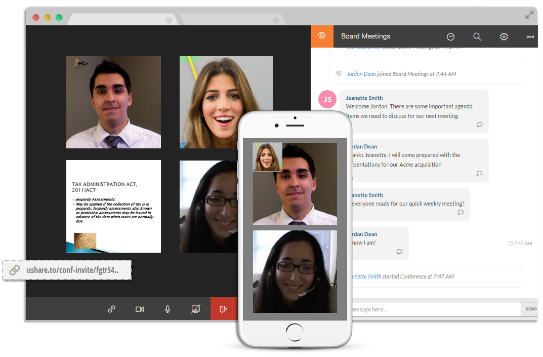 uShare Team Communication