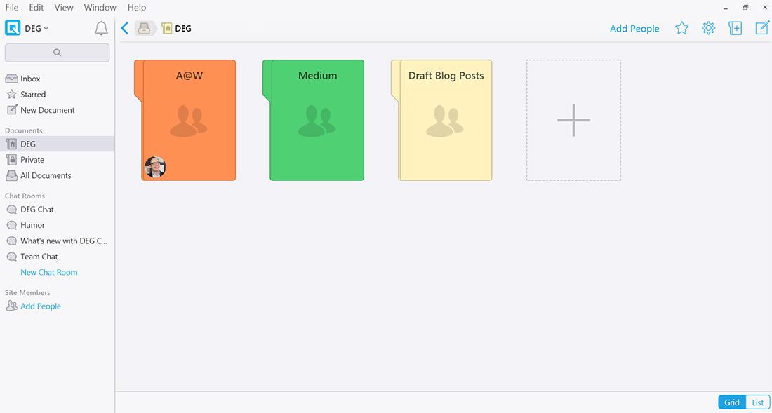 quip-desktop-showing-folders