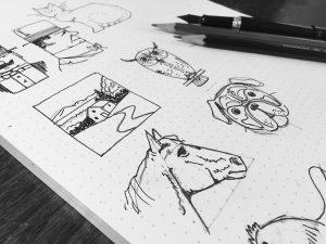 bull garlington's doodles