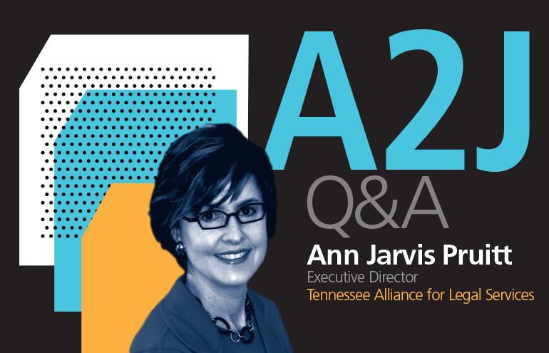 TALS A2J Q&A with Ann Pruitt