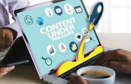 SEO content under pressure