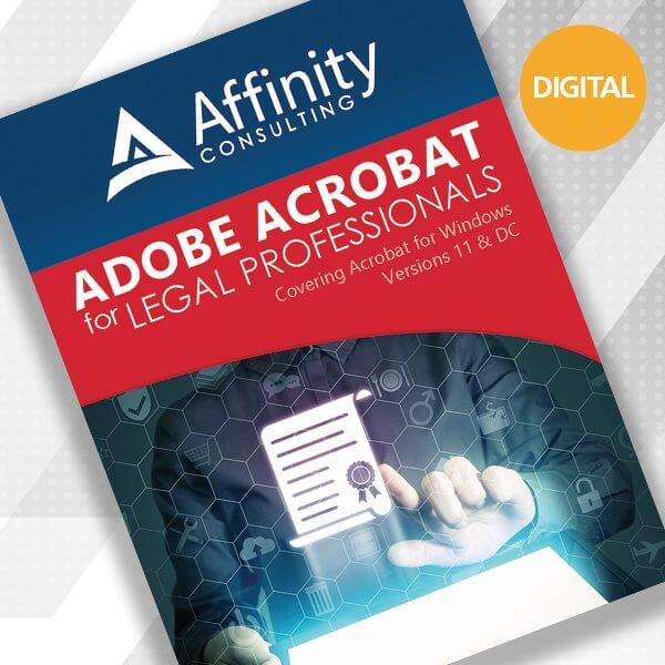 Adobe Acrobat for Legal Profess