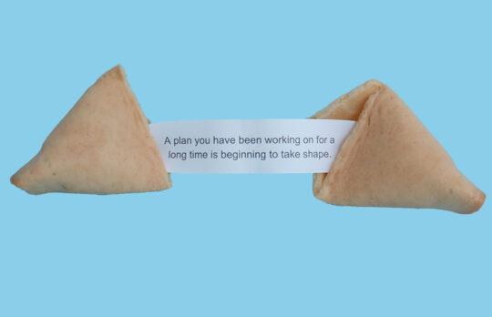 retirement planning fortune cookie