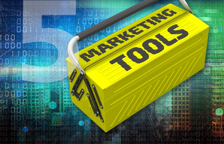 Tool box with legal marketing tools
