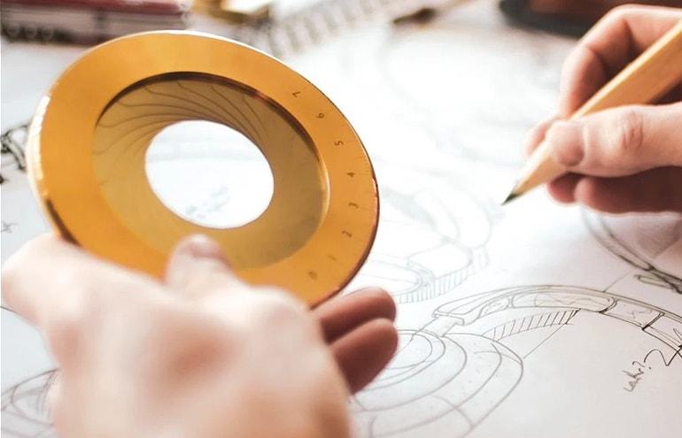 iris desk compass