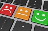 Keyboard with happy and sad faces Client Testimonials