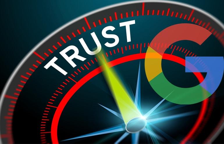 Trust meter Trustworthy Website