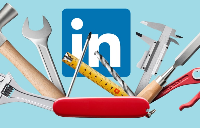 tools for a linkedin profile update