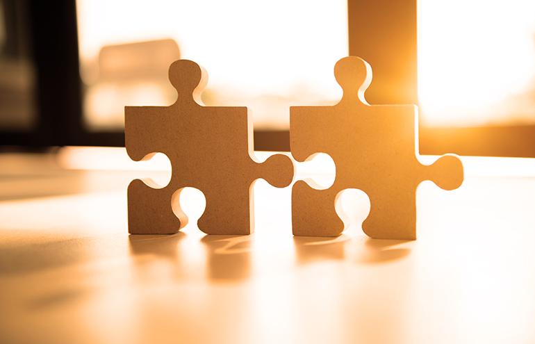 puzzle pieces personal connection