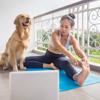 virtual yoga class pandemic posture