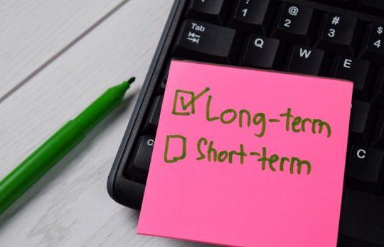 long term marketing goals